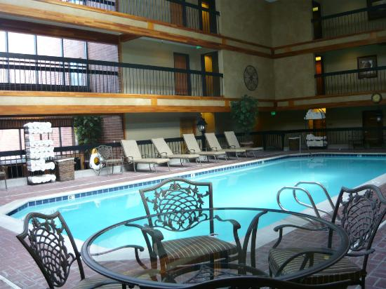 Park Plaza Resort: The pool...