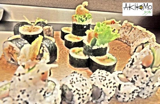 Akikomo Sushi : The Best Sushi art in Santa Marta