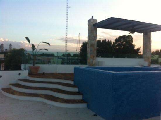 hotel colonial la aurora: zona spa terrazza
