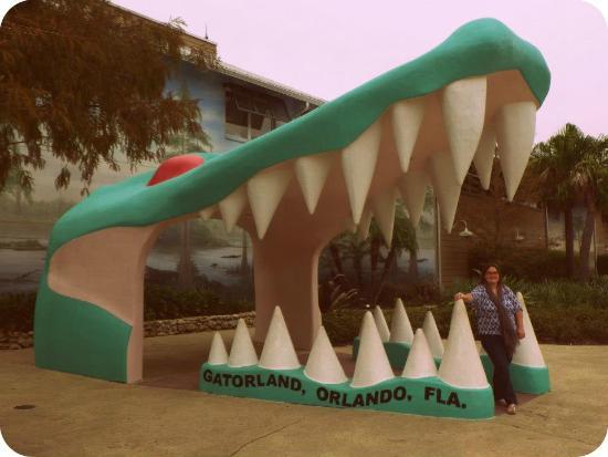Gatorland: entrance