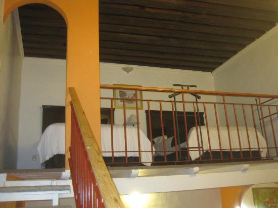 Hotel La Casona de Don Lucas: camas del segundo piso
