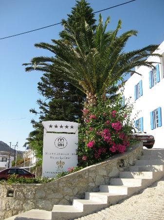 Myconian Ambassador Relais & Chateaux Hotel: Eingangsbereich