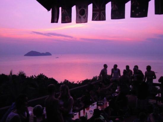 Sunset amstardam bar photo de amsterdam bar ko phangan