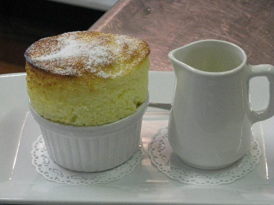 Waipoua Lodge: Signature Dish - Lemon Souffle