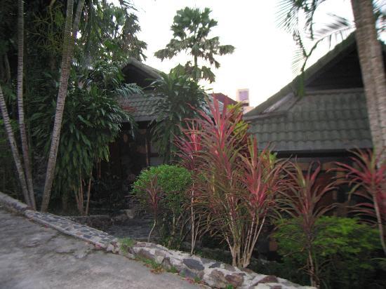 Royal Crown Hotel & Palm Spa Resort: Дорога из бунгало по территории отеля.