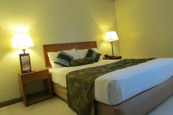 Kimberly Hotel: Clean and spacious room