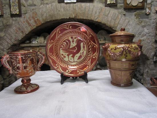 Antica Fornace Deruta: Lustro rubino