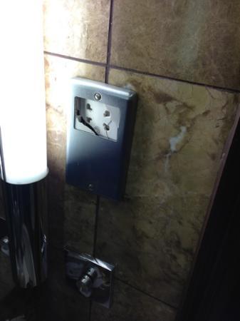 Cheshire Hotel: broken