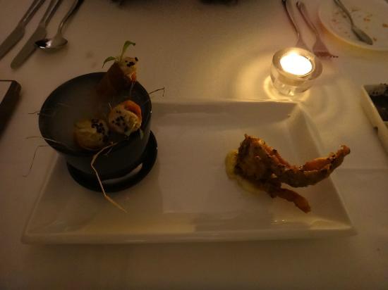 Macalister Mansion : tasting menu
