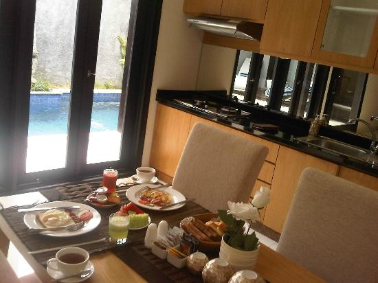 The Jineng Villas: breakfast