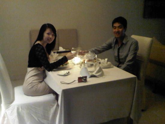 The Jineng Villas: romantic dinner