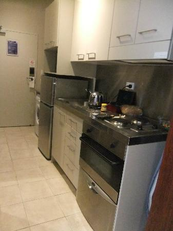 Auckland City Oaks : Our kitchenette