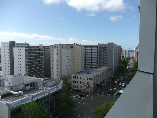 Auckland City Oaks : The view from the 9th floor
