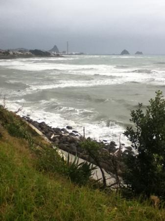 New Plymouth Coastal Walkway: sea view