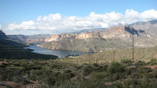 Apache lake picture of apache lake tortilla flat for Apache lake fishing