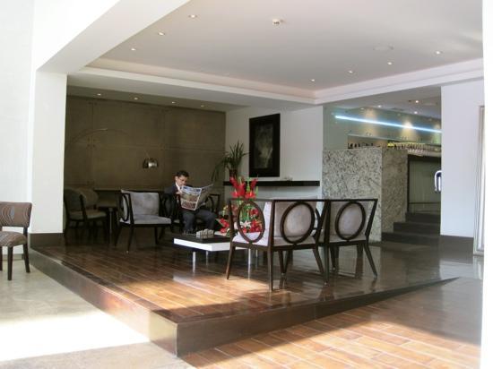 Le Parc Hotel: Lobby