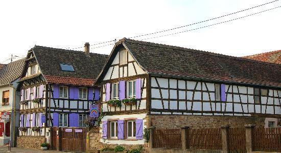 Blaesheim, فرنسا: Außenansicht 