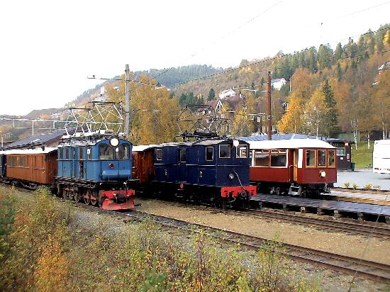 Orkla Industrimuseum: Trains at the Thamshavn Railway, run by Orkla Industry Museum