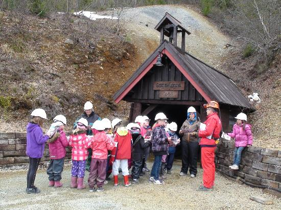 Orkla Industrimuseum: Outside the Old Mine.