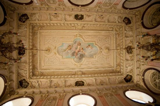 ‪‪Pousada Palacio Estoi‬: noble room ceiling
