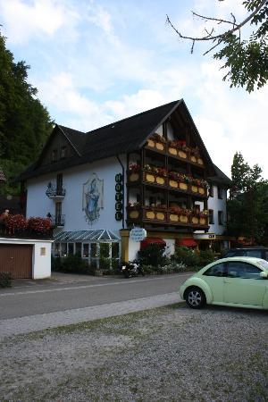 Wellness-Hotel Elisabeth: L'Hotel lato strada