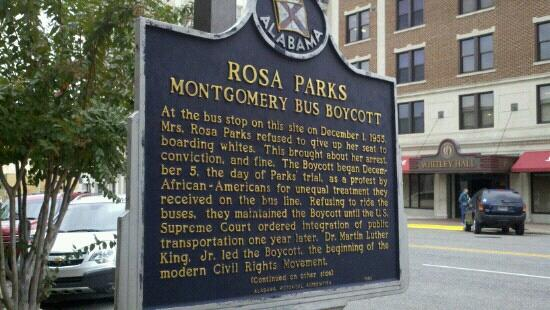 Rosa Parks Library and Museum: 11/15/12