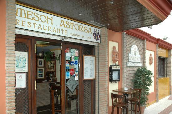Meson Astorga: ENTRADA DEL MESÓN ASTORGA