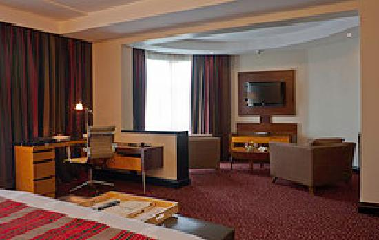 The Boma Nairobi: Deluxe Room Lounge