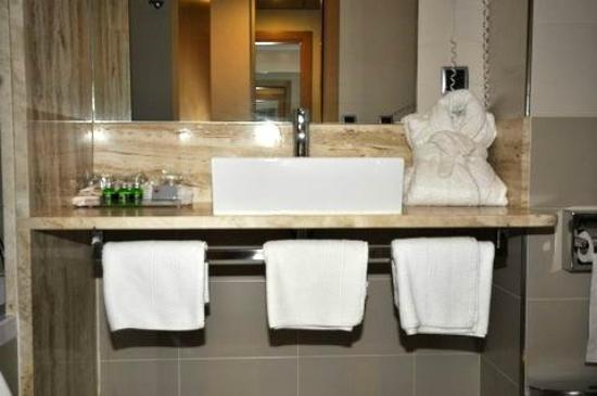 Hotel Palau De Girona: BANYO HABITACION