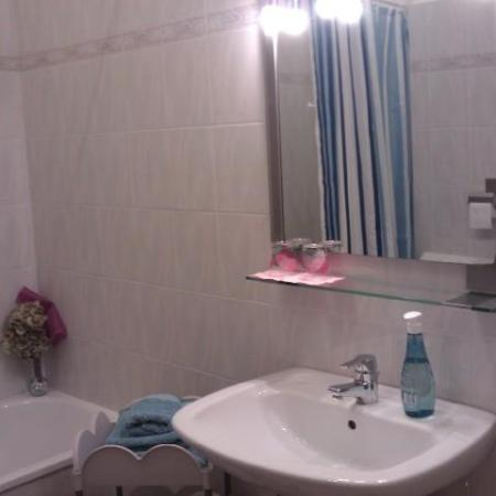 Le Ortensie di via Rossetti: Bagno con vasca