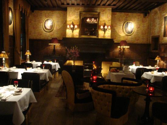 Hotel de Orangerie: breakfast/lounge