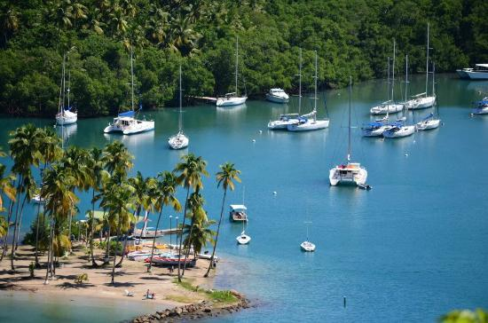 The Inn On The Bay: Marigot Bay