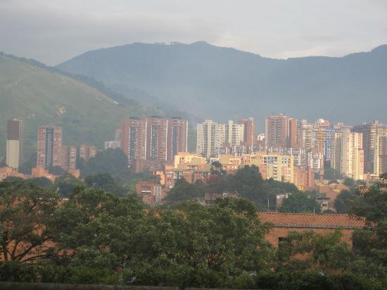 Hotel Plaza Granada: Vista desde la habitación del hotel