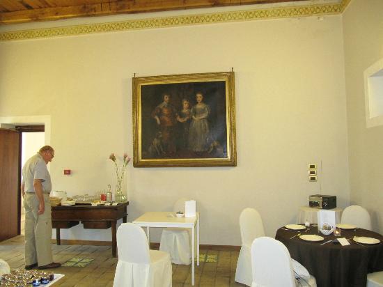 San Martin Hotel : Breakfast room