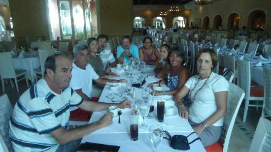 Majestic Colonial Punta Cana: Ùltimo almoço...