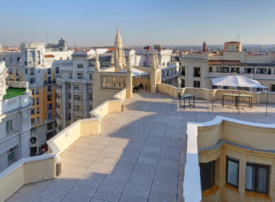 Sala Desayuno Picture Of Tryp Madrid Cibeles Hotel