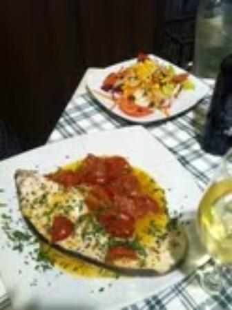 Old Taverna Sorrentina: Swordfish