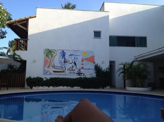 Farol de Itapuã Praia Hotel: piscina