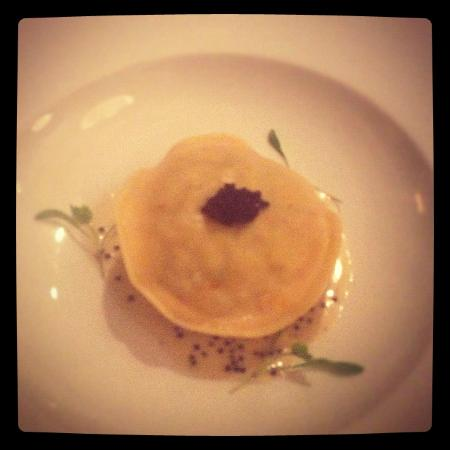 The Richmond Arms: lobster and crab ravioli