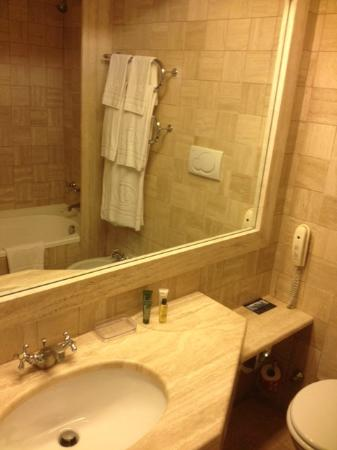 Hilton Rome Airport Hotel: sink
