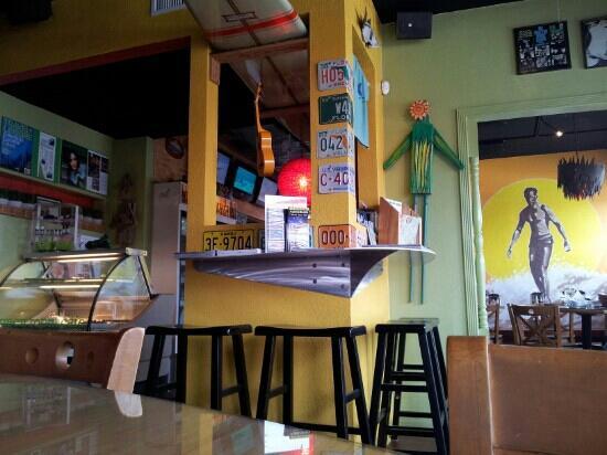Green Room Cafe: Green Room interior
