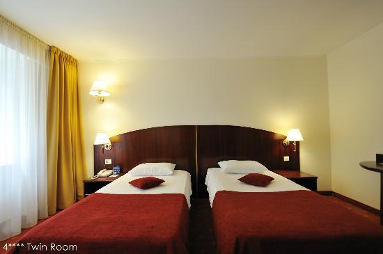 Minerva Hotel: 4 stars room