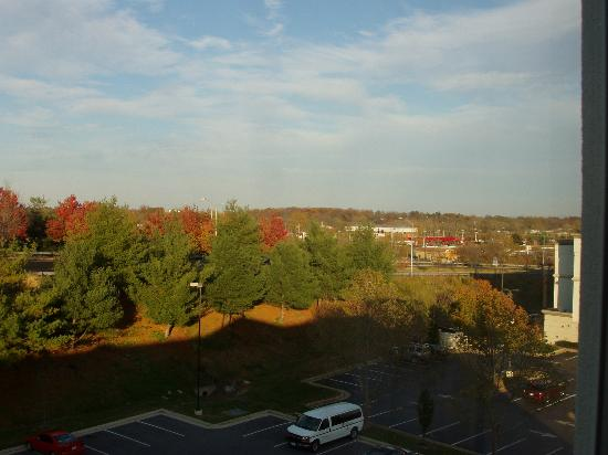 Hilton Garden Inn Winchester: View from room