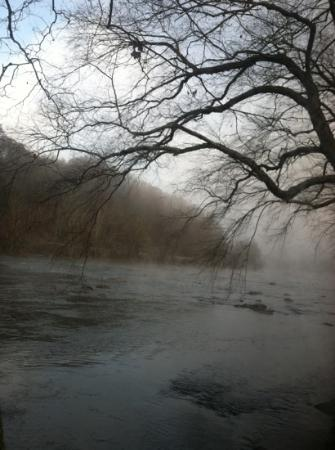 French Broad River: Early November morning