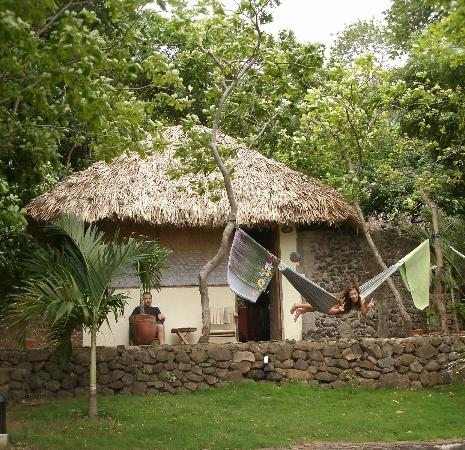 San Simian Eco Lodge: Sandia our cabana of many great times