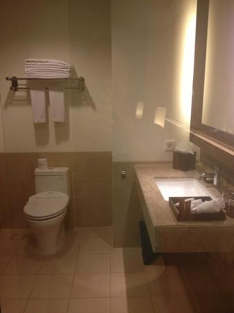 Sun Island Hotel & Spa Kuta: bathroom/toilet