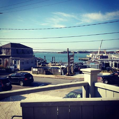 Amazing view from Woods Hole Inn