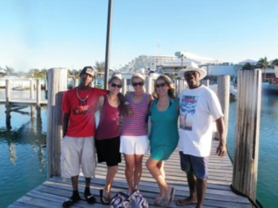 Power Boat Beach Party: All of us!