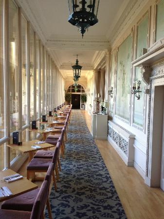 MacDonald Bath Spa Hotel: One of the relaxed dining areas