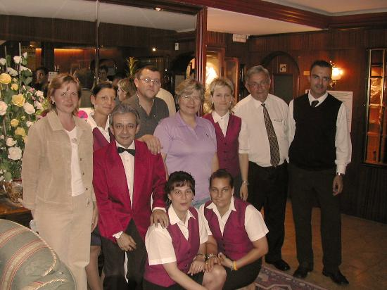 Hotel Mercedes: Персонал отеля